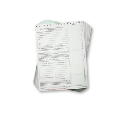 DOT Breath Alcohol Testing Forms- Standard