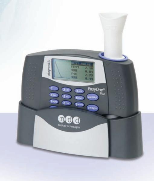 EasyOne Plus Diagnostic Spirometry System II