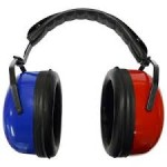 Red - Blue Audiometer Headphones
