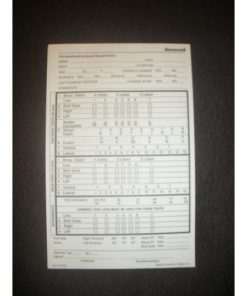 Hearing Test Record Form Pads